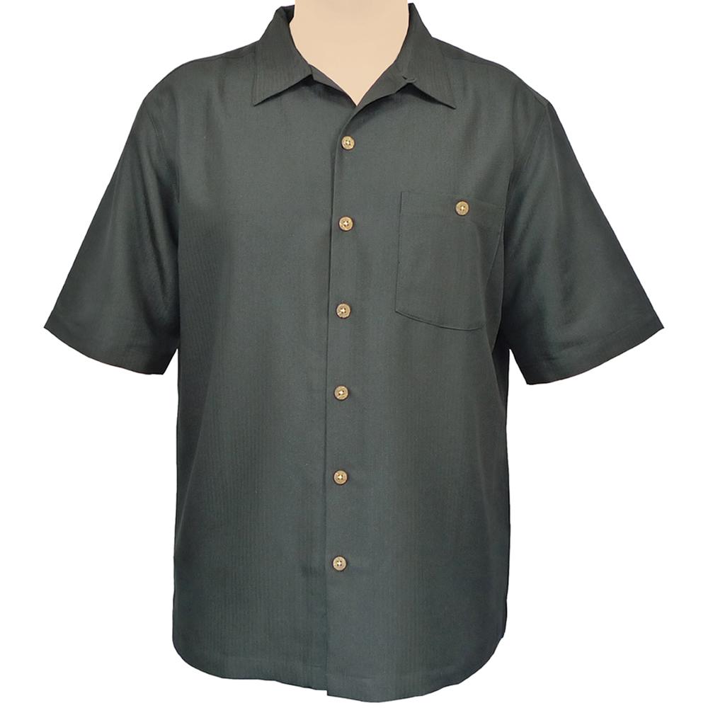 """""""Indigo Smith"""" Short Sleeve Sportshirt - Black"""