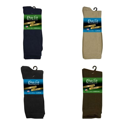 F-Comfort Dress Sock (Easy Fit) 3-packs
