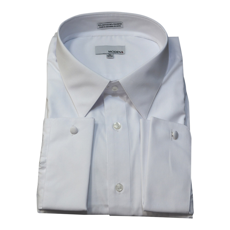 Modena French Cuff White Dress Shirt