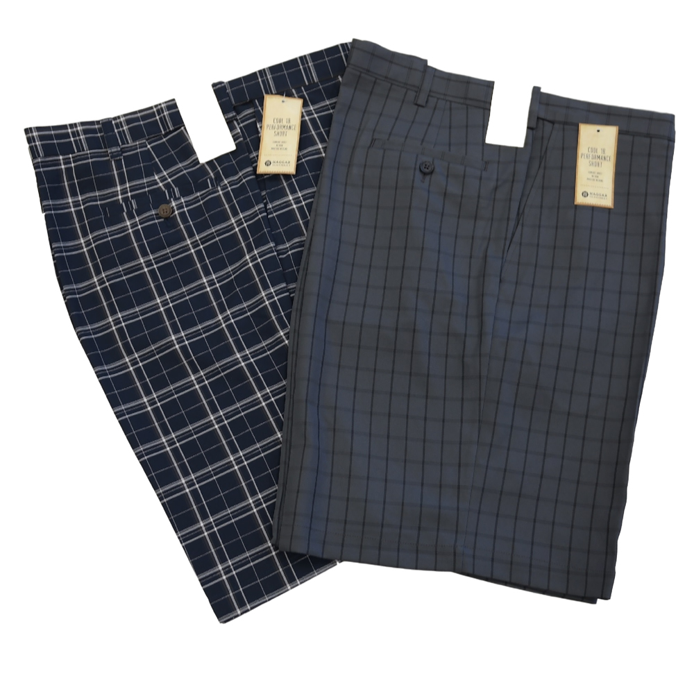 Haggar Plaid Shorts