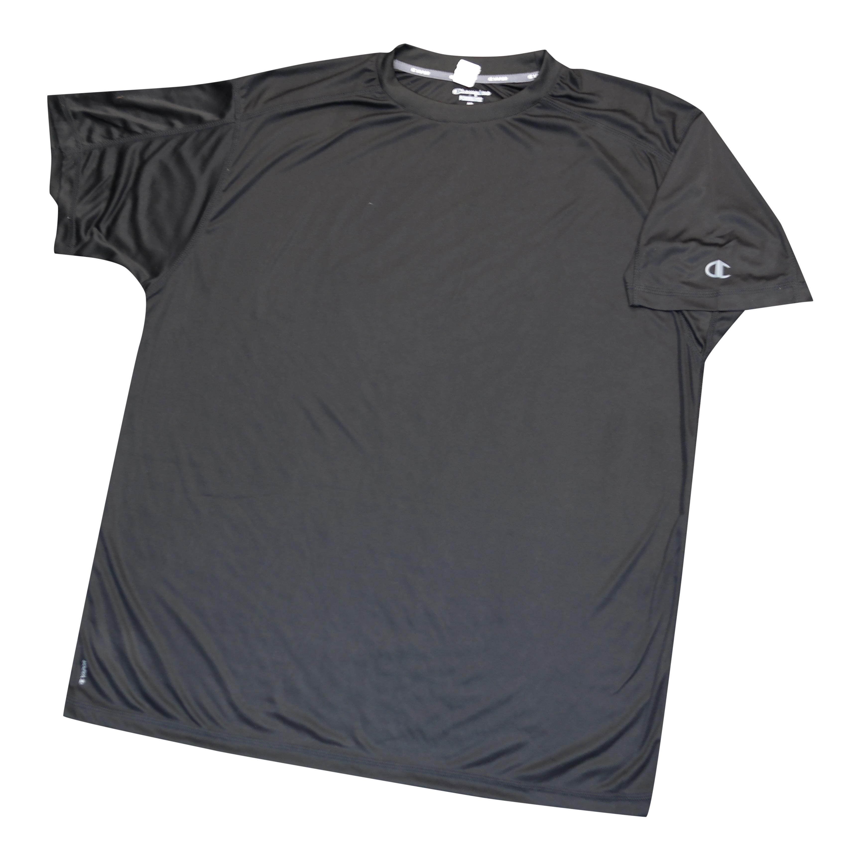 "Champion Dri-Power ""Vapor"" Black Tee Shirt"