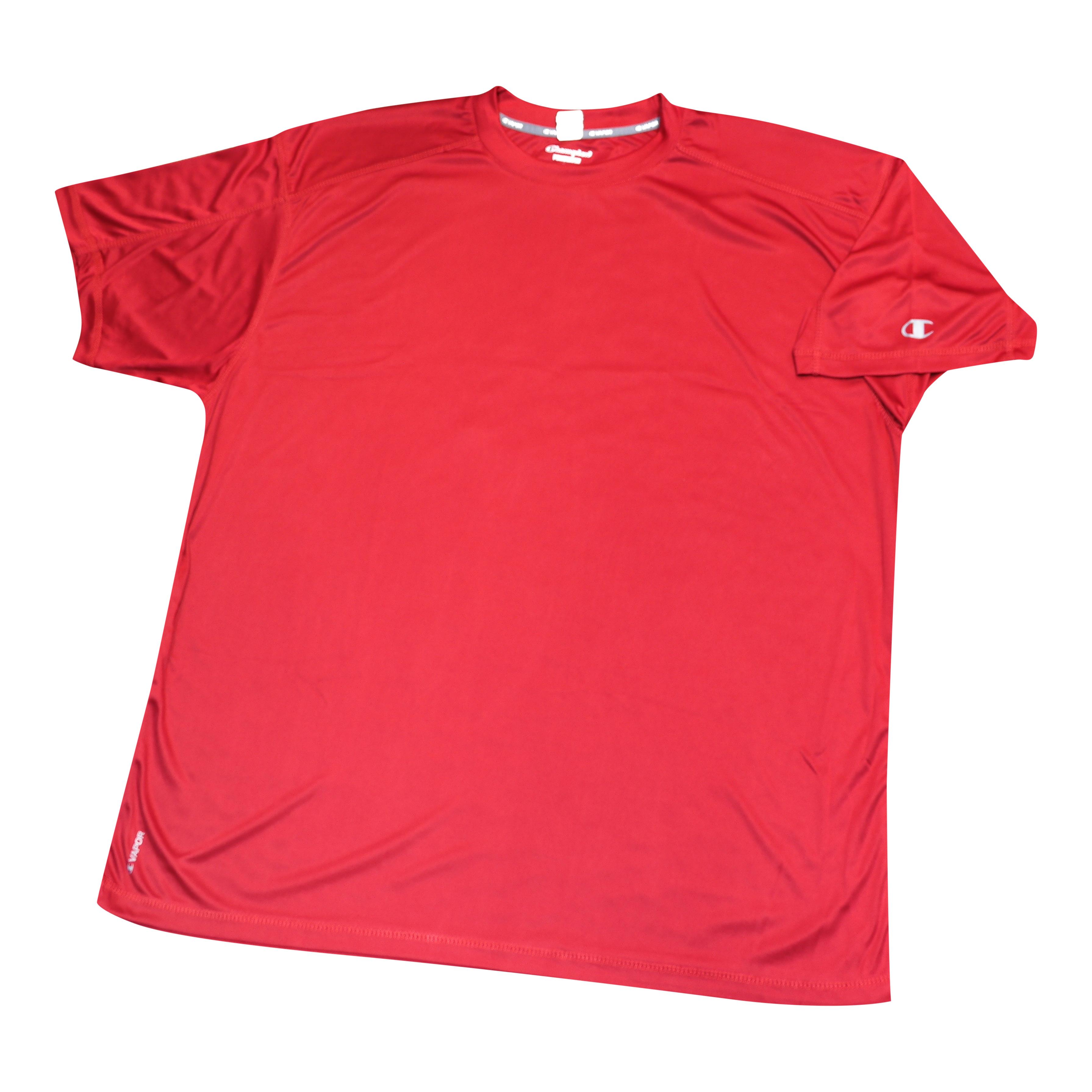 "Champion Dri-Power ""Vapor"" Red Tee Shirt"