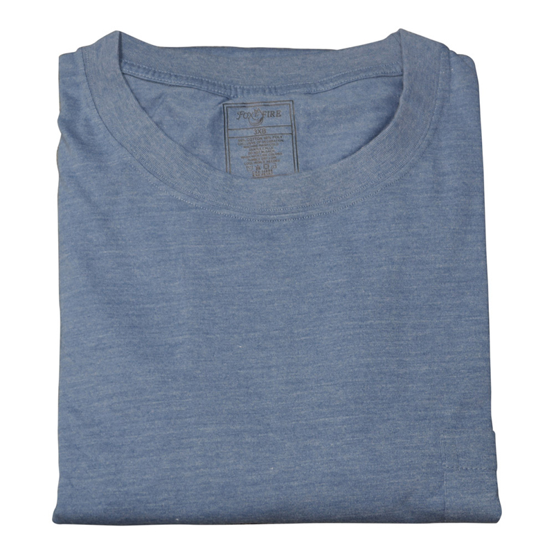 Foxfire/Falcon Bay Denim Blue Pocket Tee Shirt