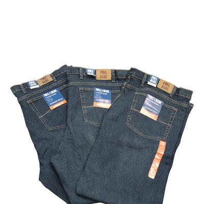 NEW!! Full Blue Ring Spun Stretch Jeans