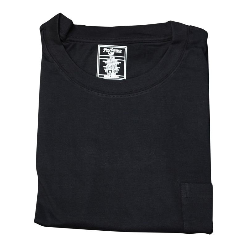 Foxfire/Falcon Bay Black Pocet Tee Shirt