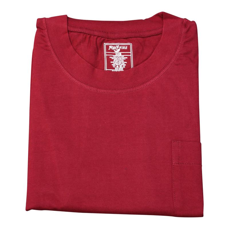 Foxfire/Falcon Bay Wine Pocket Tee Shirt