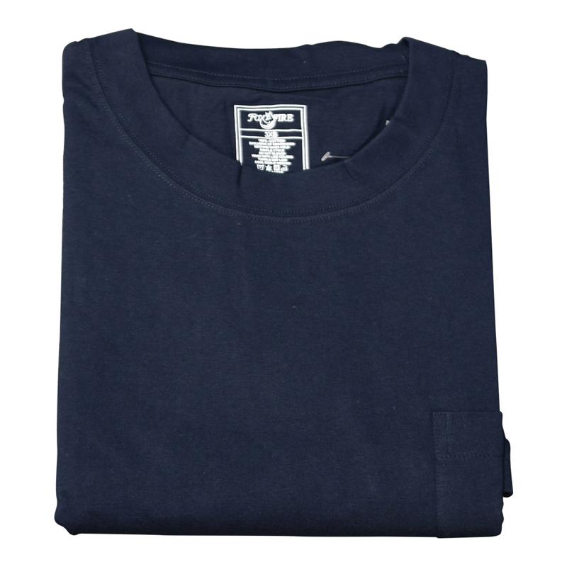 Foxfire/Falcan Bay Navy Pocket Tee Shirt