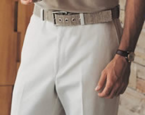 """Comfort-Fit"" plain front pant from Haggar"