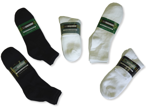 KB 3-pack Athletic Qtr. Socks