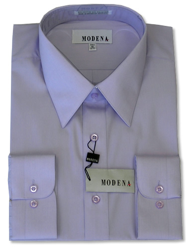Modena Dress Shirt / LAVENDER
