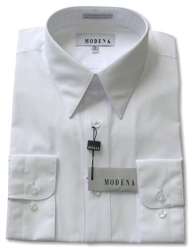 Modena Dress Shirt / WHITE