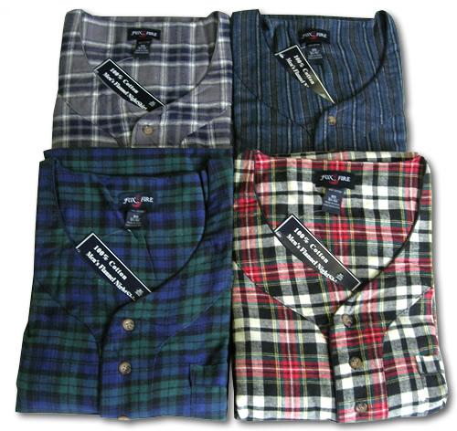 Flannel Nite Shirt