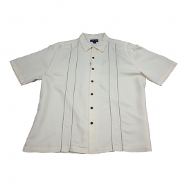 """Indigo Smith"" Short Sleeve Sport Shirt - Sopranos/Charlie Style"