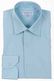 Modena Dress Shirt/SEAFOAM