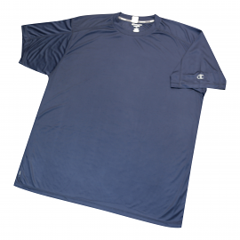 "Champion Dri-Power ""Vapor"" Navy Tee Shirt"
