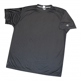 "Champion Dri-Power ""Vapor"" Black Tee Shirt"