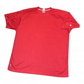 "Champion Dri-Power ""Vapor"" Red Tee Shirt"