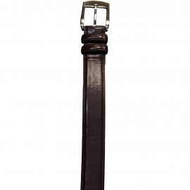 Casual Brown Dress Belt