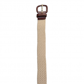 Full Elastic Khaki Belt