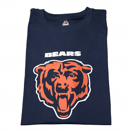 "Chicago Bears T-shirt ""Bears Head Navy"""