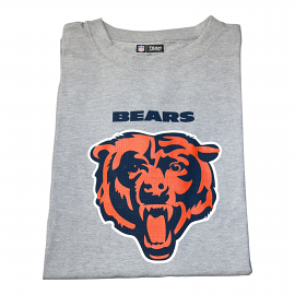 "Chicago Bears T-shirt ""Bears Head Gray"""