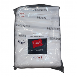 Hanes Brief (White)