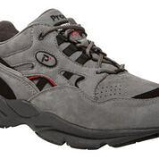 Propet Grey/Black Nubuck Stability Walker