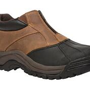 Propet Brown/Black Blizzard Ankle Zip