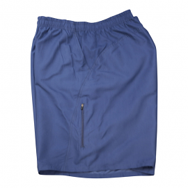Solid Dark Navy Microfiber Swimtrunk