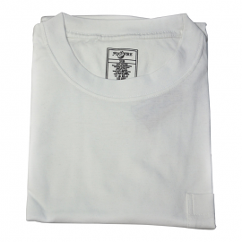 Foxfire/Falcon Bay White Pocket Tee Shirt
