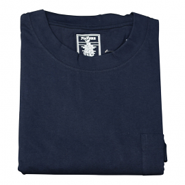 Foxfire/Falcan Bay Navy Pocket Tee Shirt