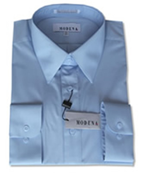 Modena Dress Shirt / LIGHT BLUE