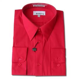 Modena Dress Shirt / RED
