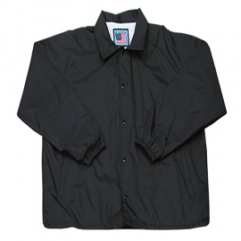 Snap & Wear Water Resistant Nylon Coach's Jacket