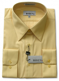 Modena Dress Shirt / BANANA