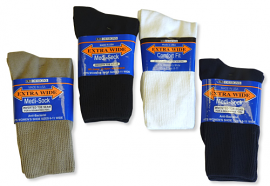 Women's Extra-Wide Medical Sock
