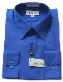 Modena Dress Shirt / FRENCH BLUE