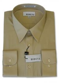 Modena Dress Shirt / SAND