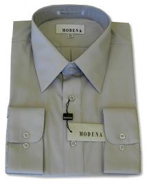 Modena Dress Shirt / SILVER