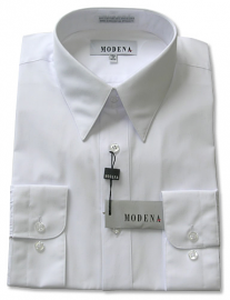 Modena Dress Shirt / WHITE