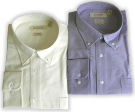 Jay & Leonard (by Modena) L.S. Oxford Dress Shirts/new colors